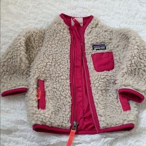 Patagonia Baby Fleece with  zipper